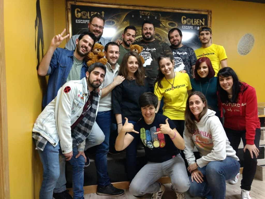 bloggers-en-golden-escape-room