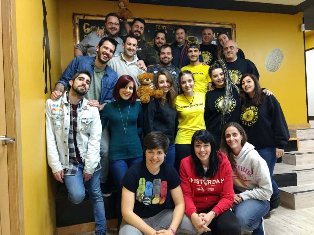Todos En Golden Escape Room