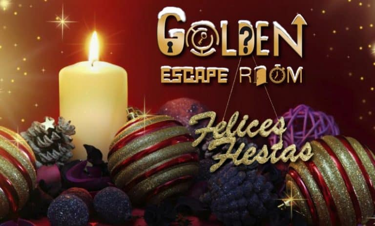 Felices Fiestas Golden Escape Room Madrid