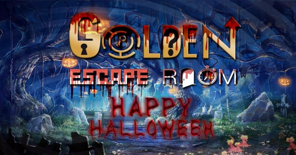Golden Escape Room Halloween