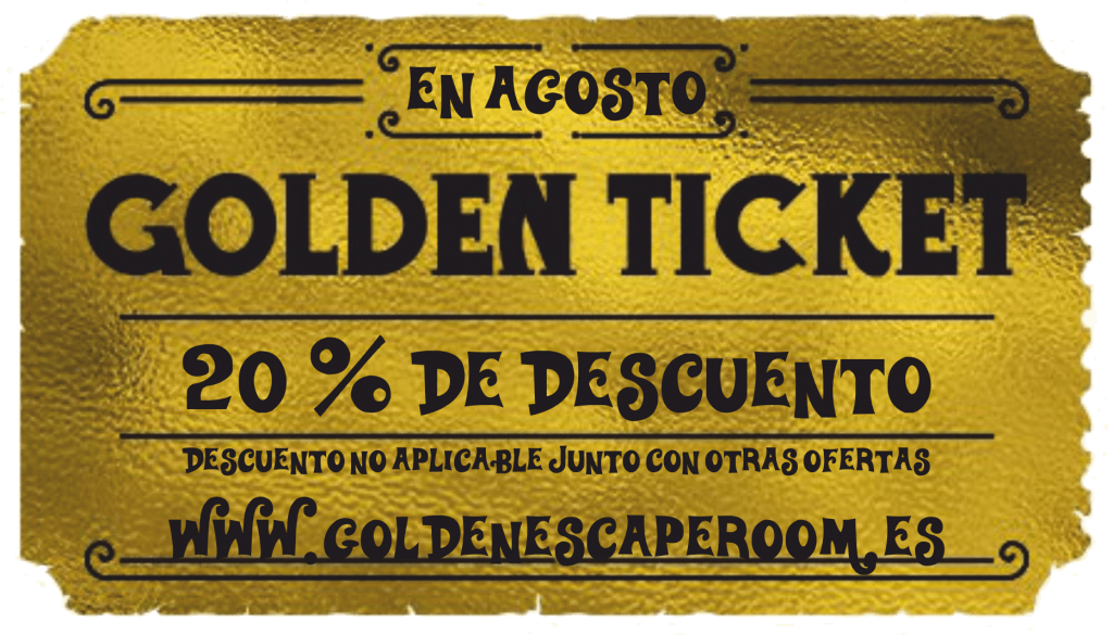 Descuento Golden Escape Room